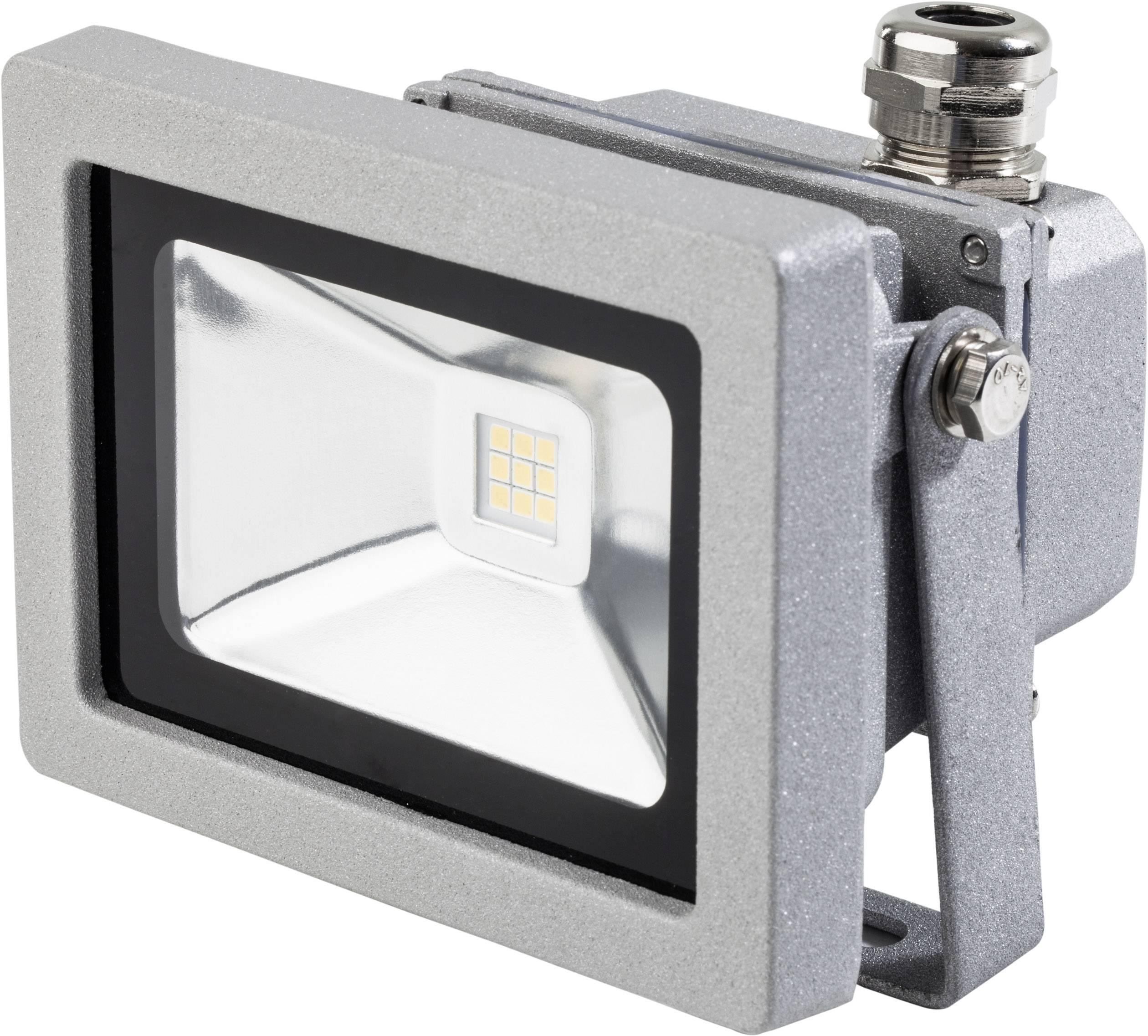 LEDvonkajšieosvetlenie 12 W neutrálne biela as - Schwabe 46915 strieborná