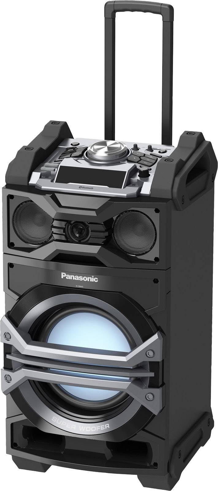 Mobilné PA reproduktory Panasonic SC-CMAX5E-K