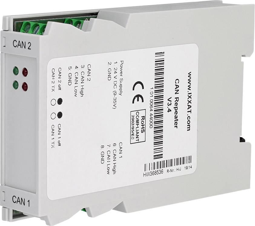 CAN opakovač CAN dátová zbernica Ixxat 1.01.0064.44000, 12 V/DC, 24 V/DC