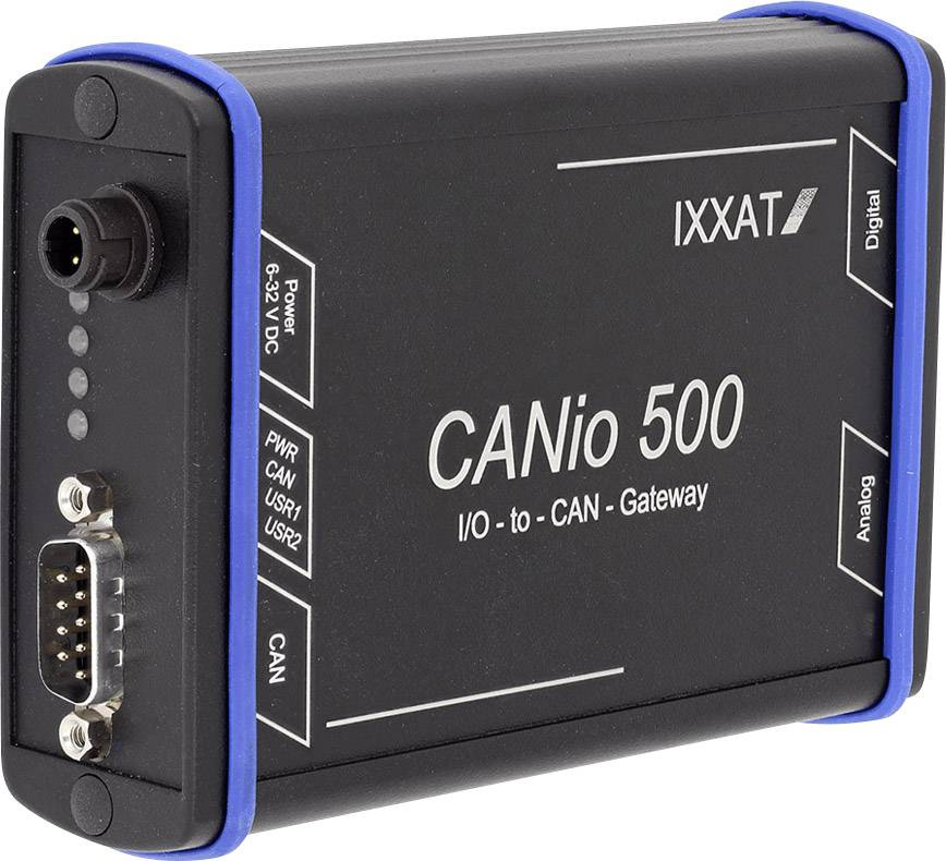 I / O převodník Ixxat Canio 1.01.0098.00000, datová sběrnice CAN, DI/Opočet vstupů: 8 x, počet výstupů 8 x, 12 V/DC, 24 V/DC