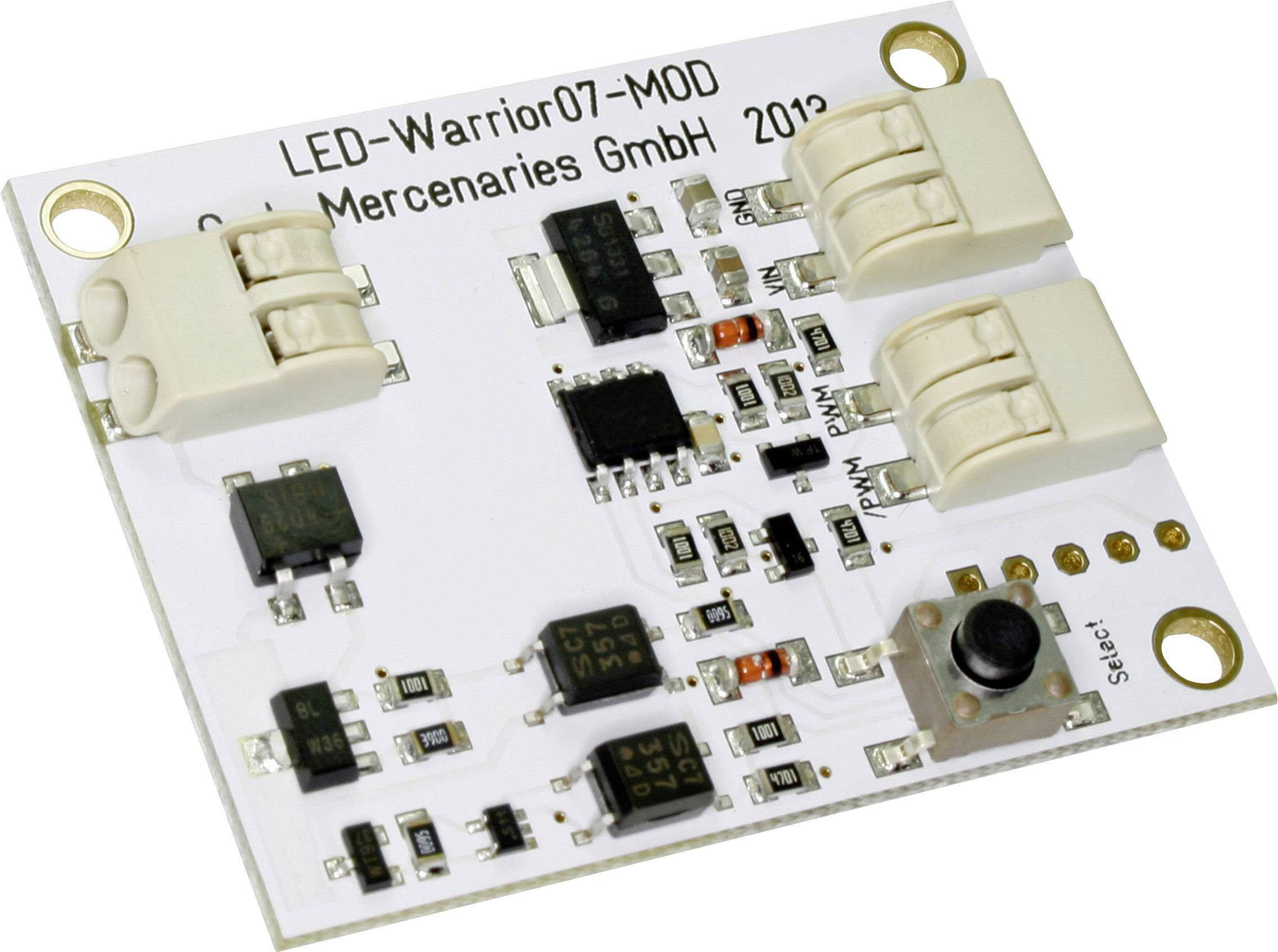 Vývojová deska Code Mercenaries LED-Warrior07-01-MOD