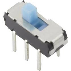 Posuvný přepínač TRU COMPONENTS YSS-1210, 6 V/DC, 0.3 A, 2x vyp/zap, 1 ks