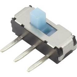 Posuvný přepínač TRU COMPONENTS YSS-1203, 6 V/DC, 0.3 A, 2x vyp/zap, 1 ks