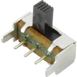 Posuvný přepínač TRU COMPONENTS CSS-1201, 50 V/DC, 0.3 A, 1x vyp/zap, 1 ks