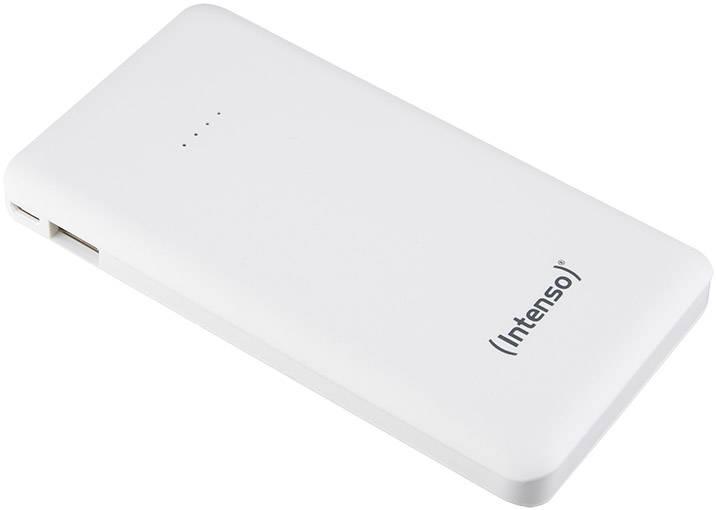 Powerbanka Intenso Slim S 10000, LiPo, 10000 mAh, biela