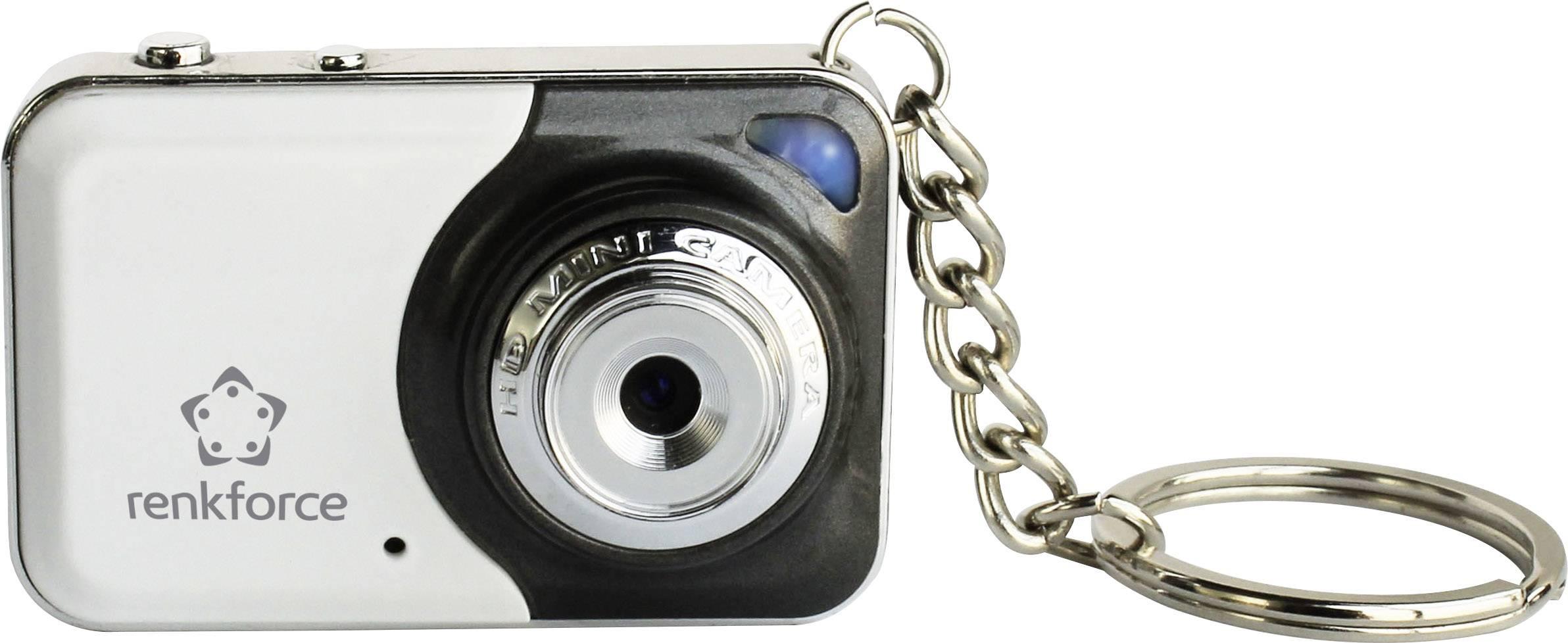Skrytá bezpečnostní kamera Renkforce 1387370, v přívěsku na klíče, 1280 x 960 pix