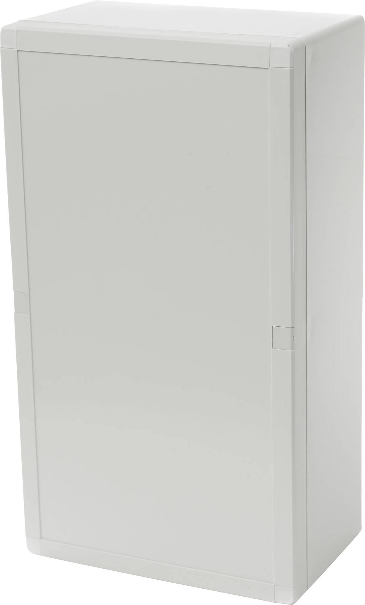 Skřínka na stěnu, instalační krabička Fibox EURONORD 3 ABQ3 203612 7085791, (d x š x v) 360 x 200 x 121 mm, ABS, světle šedá , 1 ks