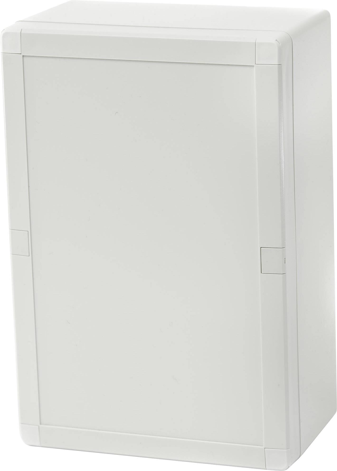Puzdro na stenu, inštalačná krabička Fibox EURONORD 3 ABQ3 162409 7085811, (d x š x v) 244 x 164 x 90 mm, ABS, svetlo sivá (RAL 7035), 1 ks
