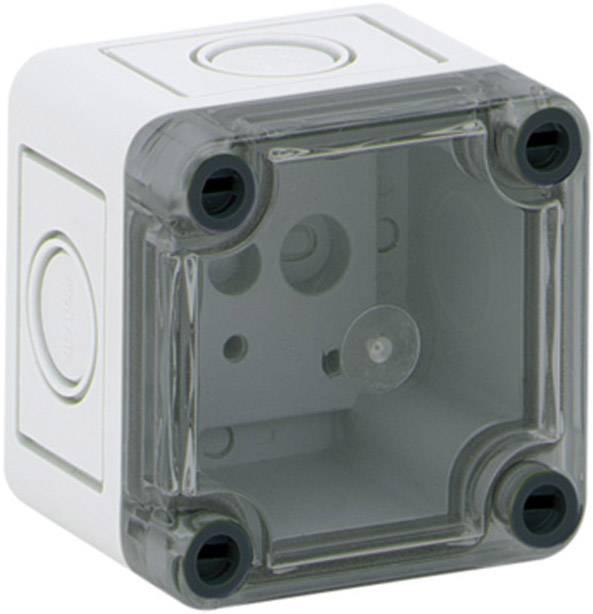 Inštalačná krabička Spelsberg TK PC 77-6-TM 13700101, (d x š x v) 65 x 65 x 57 mm, polykarbonát, svetlo sivá, 1 ks