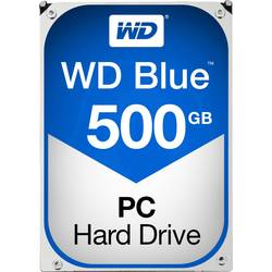 "Interní pevný disk 8,9 cm (3,5"") 500 GB Western Digital Blue™ Bulk WD5000AZLX-FR SATA III"