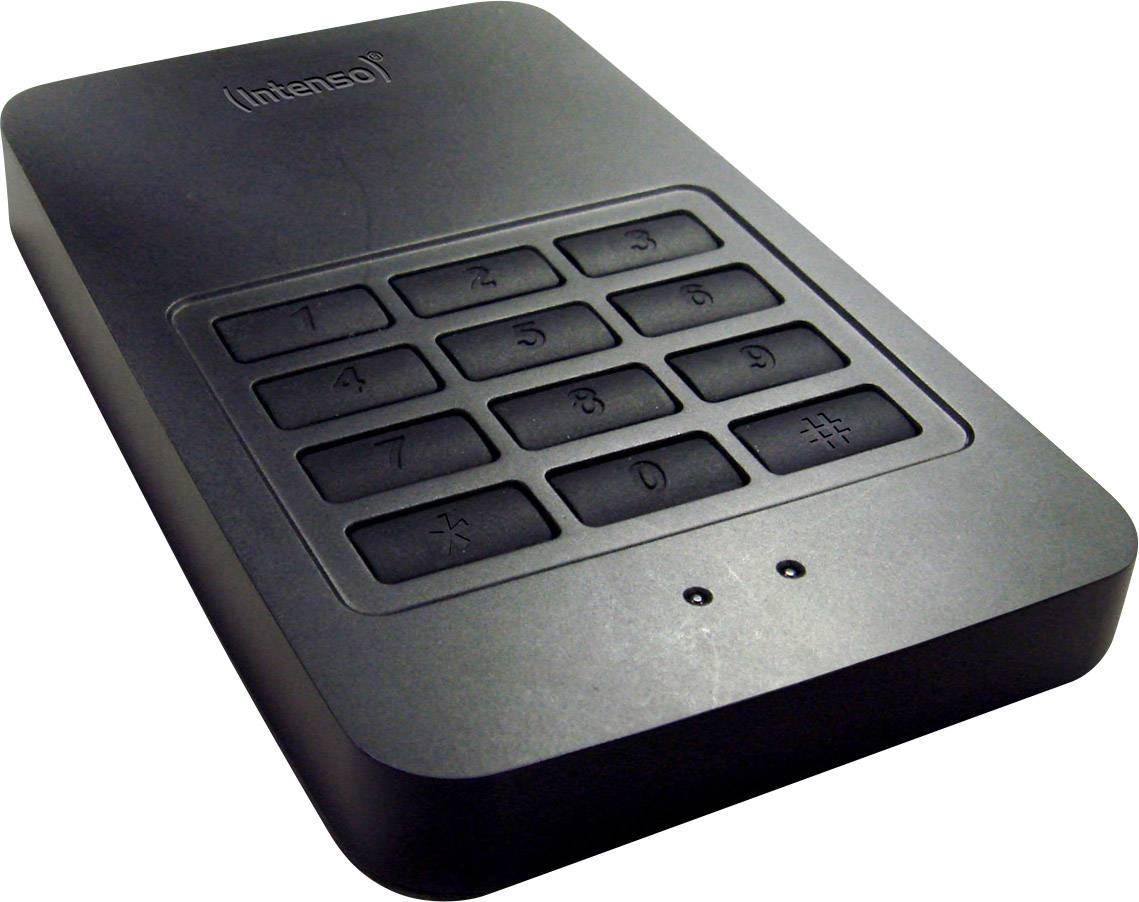"Externý HDD 6,35 cm (2,5 "") 1 TB Intenso Memory Safe čierna USB 3.0"