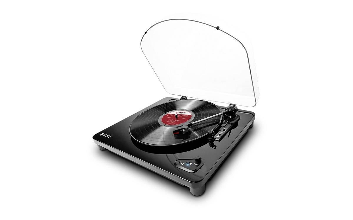 USB gramofón ION Audio AIR LP s remienkovým náhonom, čierna