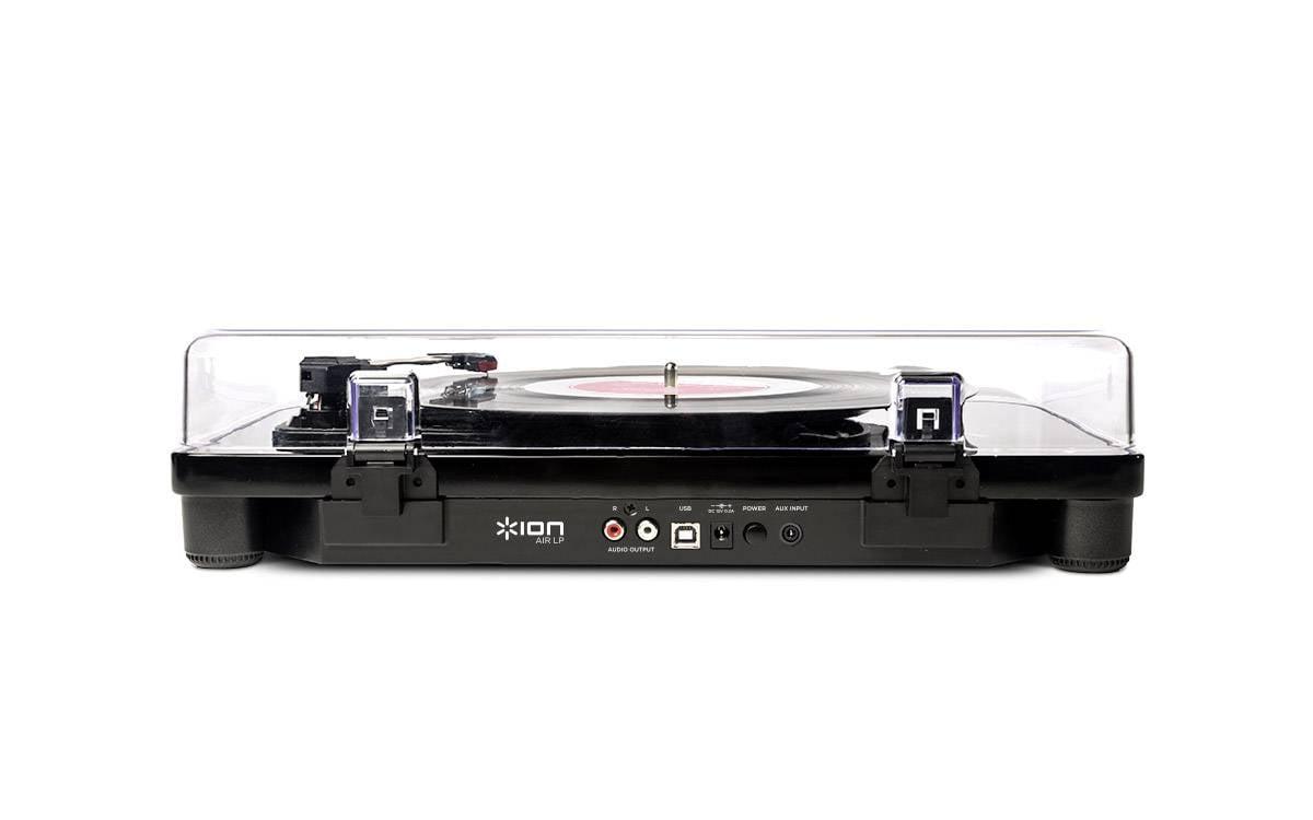 USB gramofon ION Air LP, řemínkový, černá