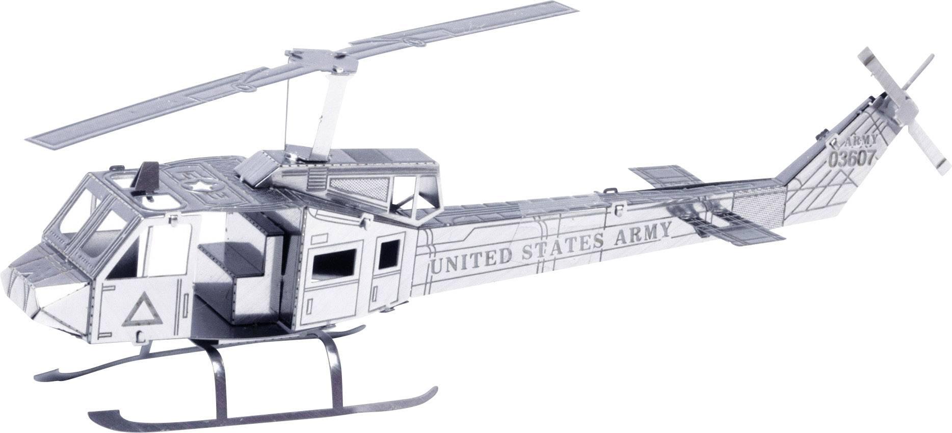 Stavebnica Metal Earth vrtuľník Huey UH-1