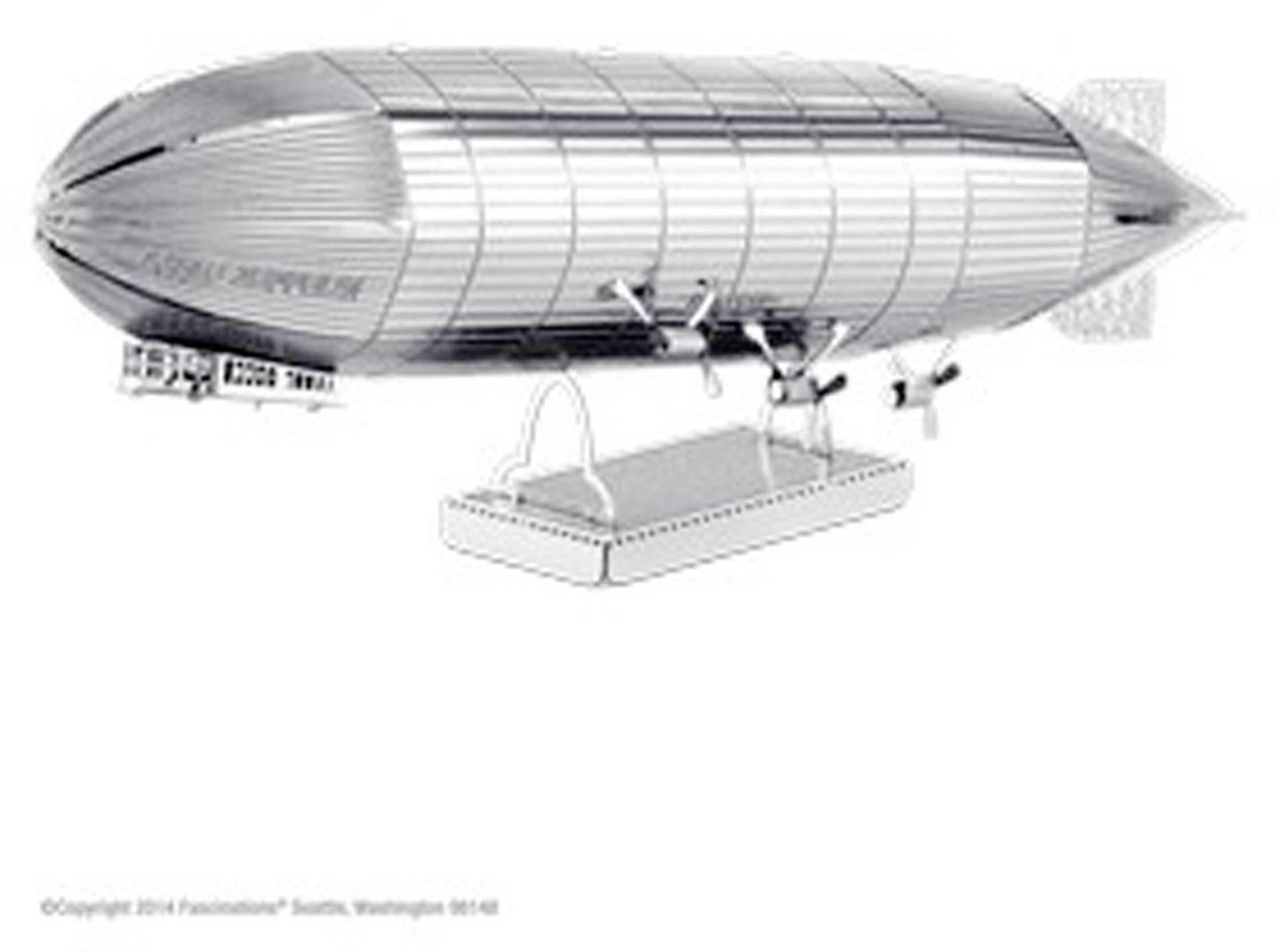 Stavebnica Metal Earth vzducholoď Zeppelin