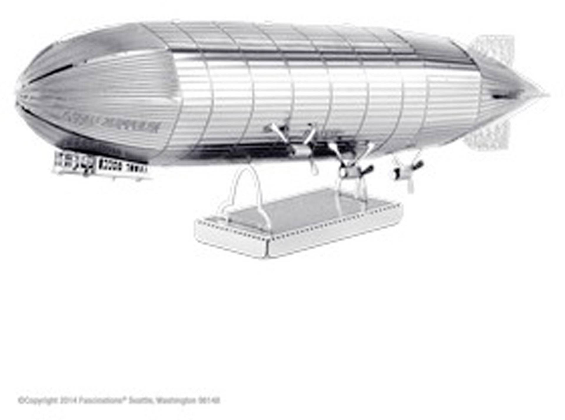 Stavebnice Metal Earth vzducholoď Zeppelin