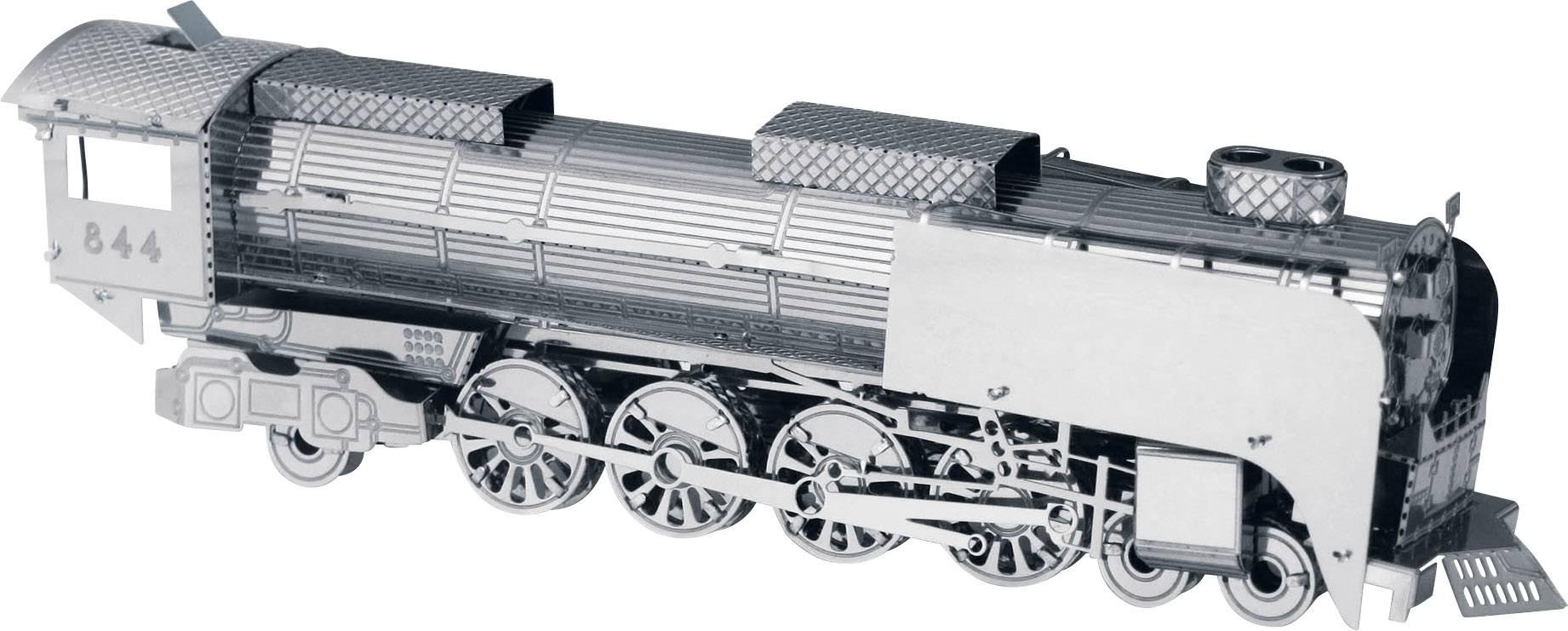 Stavebnica Metal Earth parná lokomotíva UP844
