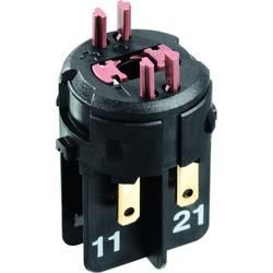 Spínací kontaktní prvek RAFI 22 FS 1.20.126.704/0000, 2 rozpínací kontakty, 250 V, 10 ks