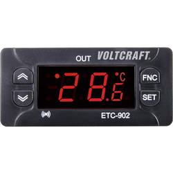 Termostat VOLTCRAFT ETC-902, typ senzoru NTC, PTC, -30 až 50 °C, relé 10 A
