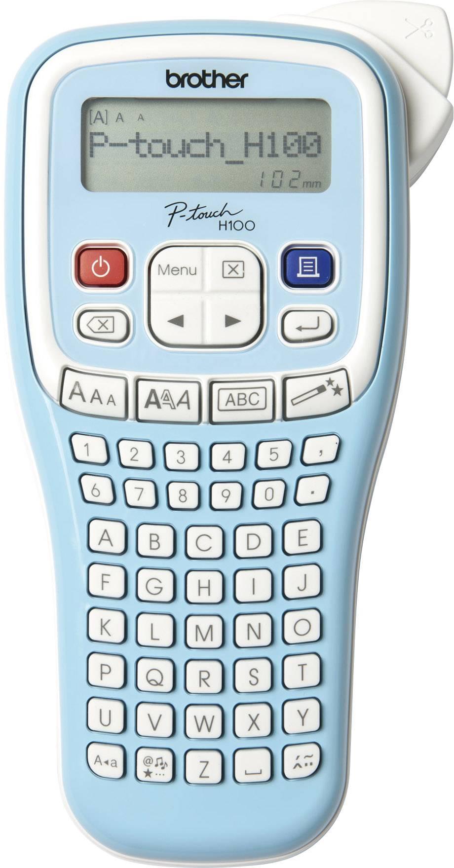 Štítkovač Brother P-touch PT-H100LB, vhodné pro pásky: TZ