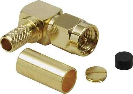 SMA konektor zástrčka, zahnutá BKL Electronic 0409081, 50 Ohm, 1 ks