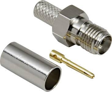 SMA konektor zásuvka, rovná BKL Electronic 0409020, 50 Ohm, 1 ks