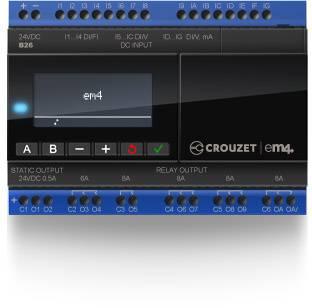 Riadiacimodul Crouzet EM4 local 88981103, 24 V/DC