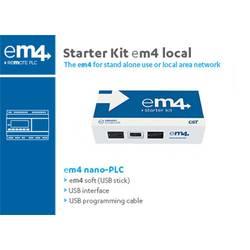 Startovací sada pro PLC Crouzet EM4 local 88981106 24 V/DC