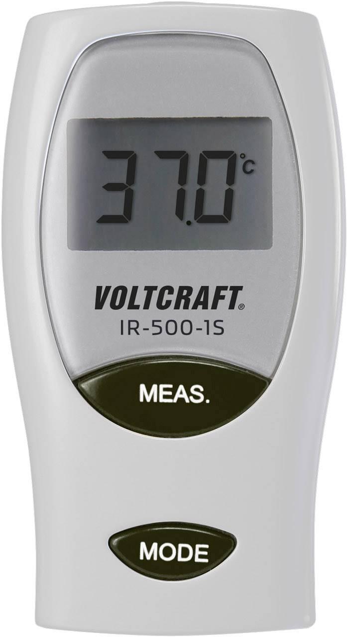 Infračervený teplomer VOLTCRAFT IR-500-1S, Optika 1:1, -33 do +500 °C