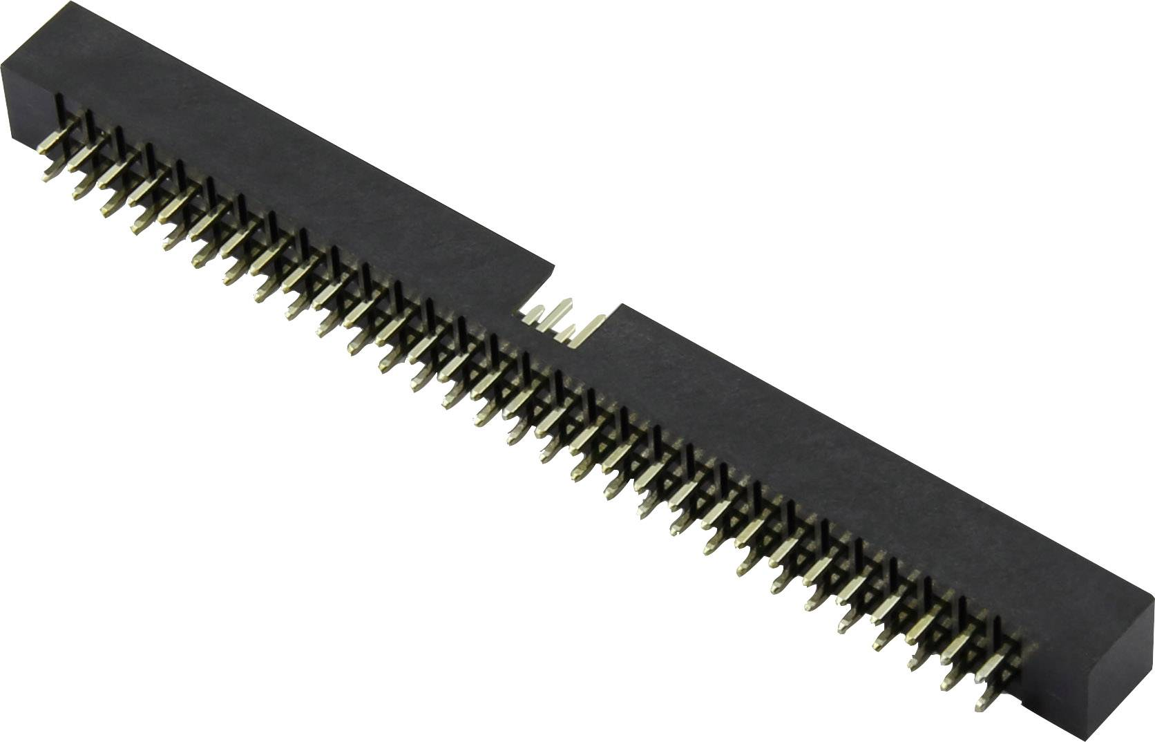Konektor pro ploché kabely Connfly DS1014-20RF1B, rastr (rozteč): 2 mm, počet pólů: 20, 1 ks