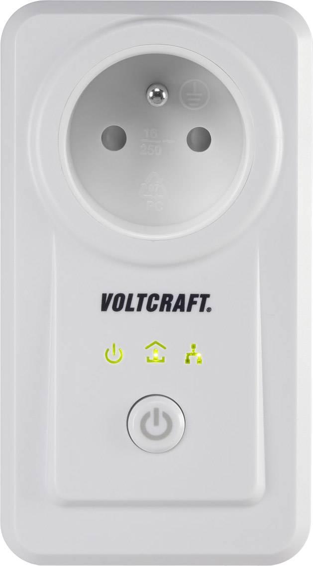 Chytrá spínací a měřící zásuvka ovládaná smartphonem VOLTCRAFT PLC3000 FR, s Wi-Fi