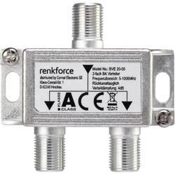 TV/SAT anténní rozbočovač Renkforce 2 výstupy