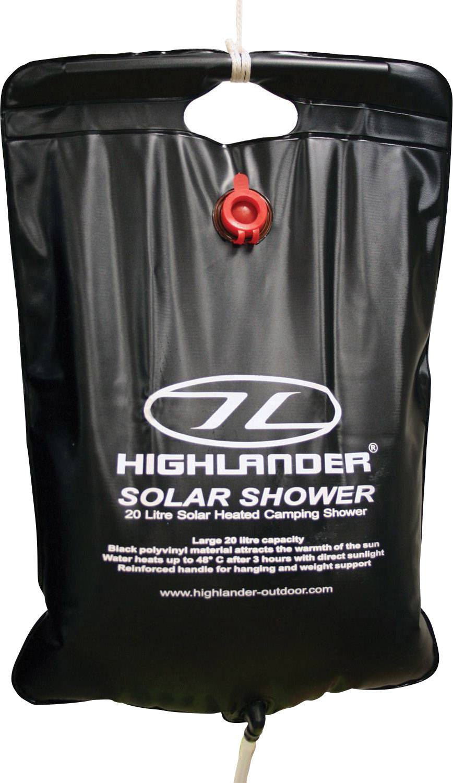 Solárna kempingová sprcha Highlander Solar Shower CP016, 20 l