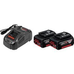 Akumulátor do nářadí a nabíječka, Bosch Professional GBA + GAL 1880 CV 1600A00B8J, 18 V, 5 Ah, Li-Ion akumulátor