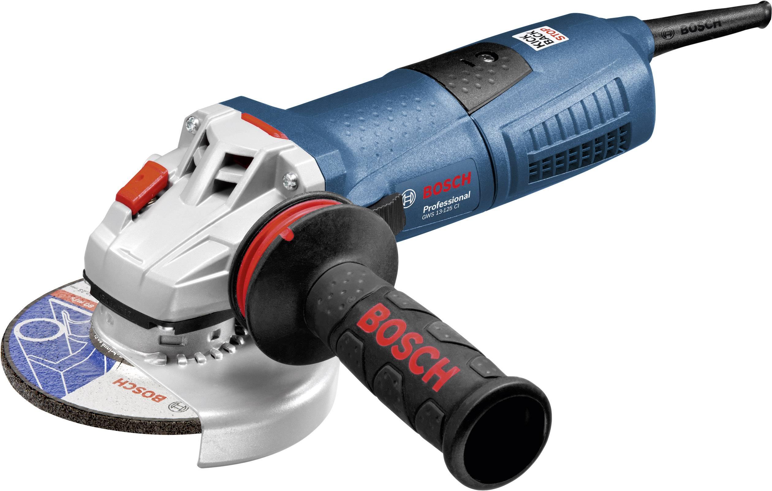 Úhlová bruska Bosch Professional GWS 13-125 CI 060179E003, 125 mm, kufřík, 1300 W