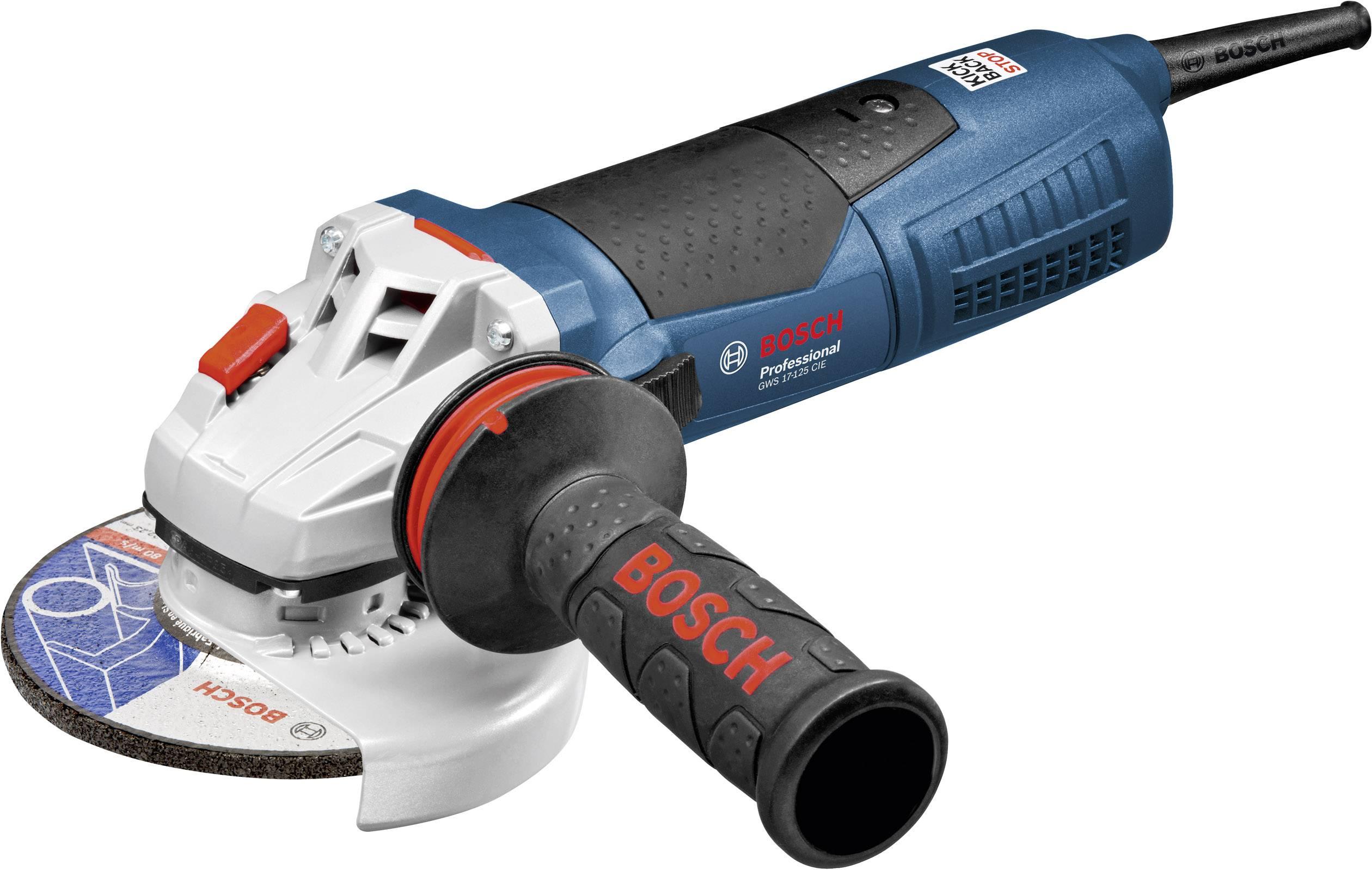 Uhlová brúska Bosch Professional GWS 17-125 CIE 060179H003, 125 mm, + púzdro, 1700 W