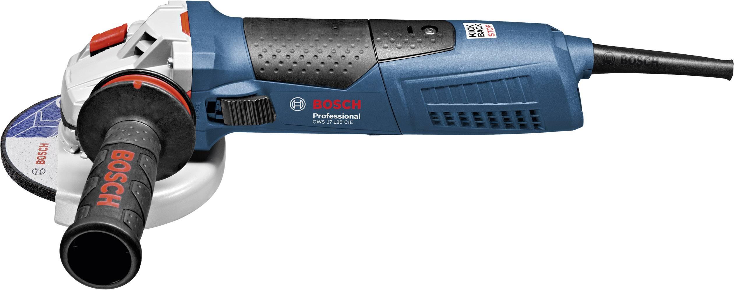 Úhlová bruska Bosch Professional GWS 17-125 CIE 060179H003, 125 mm, kufřík, 1700 W