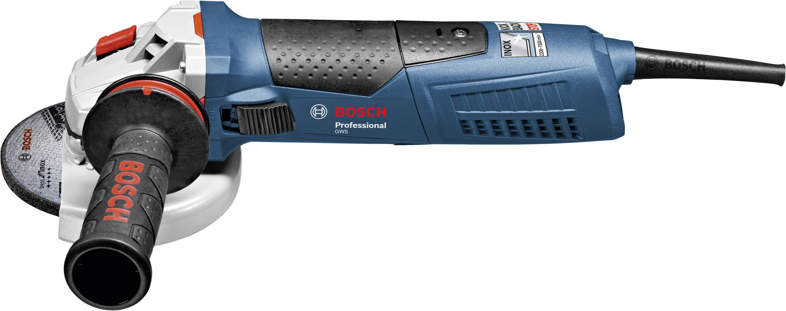 Úhlová bruska Bosch Professional GWS 17-125 Inox 060179M008, 125 mm, 1700 W