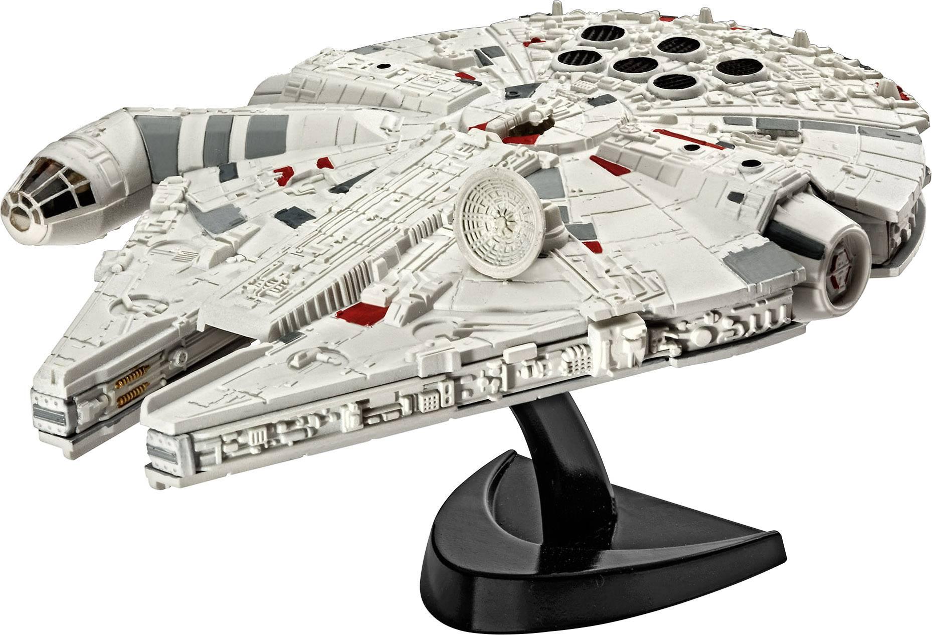 Star Wars Millenium Falcon, sci-fi model, stavebnica Revell 03600