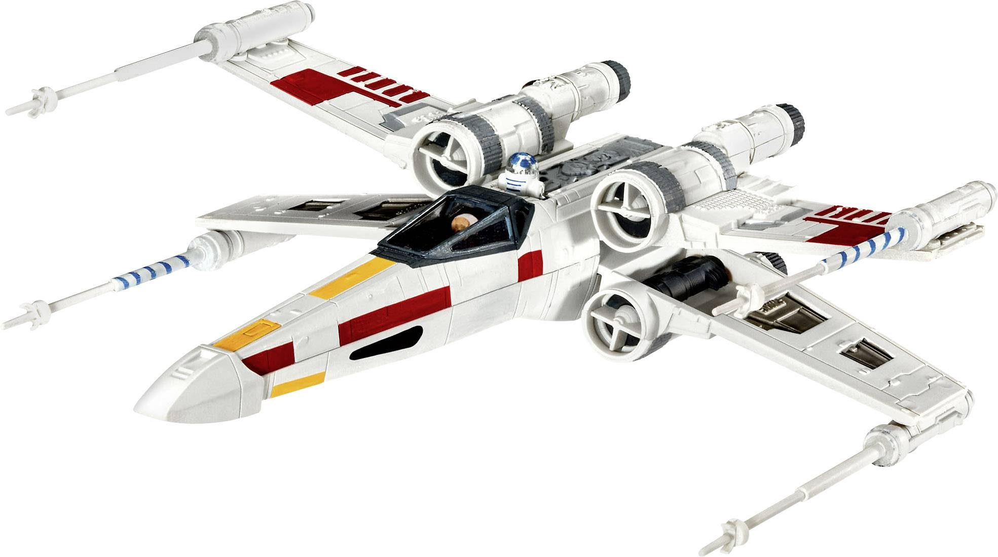 Star Wars X-Wing Fighter, sci-fi model, stavebnica Revell 03601