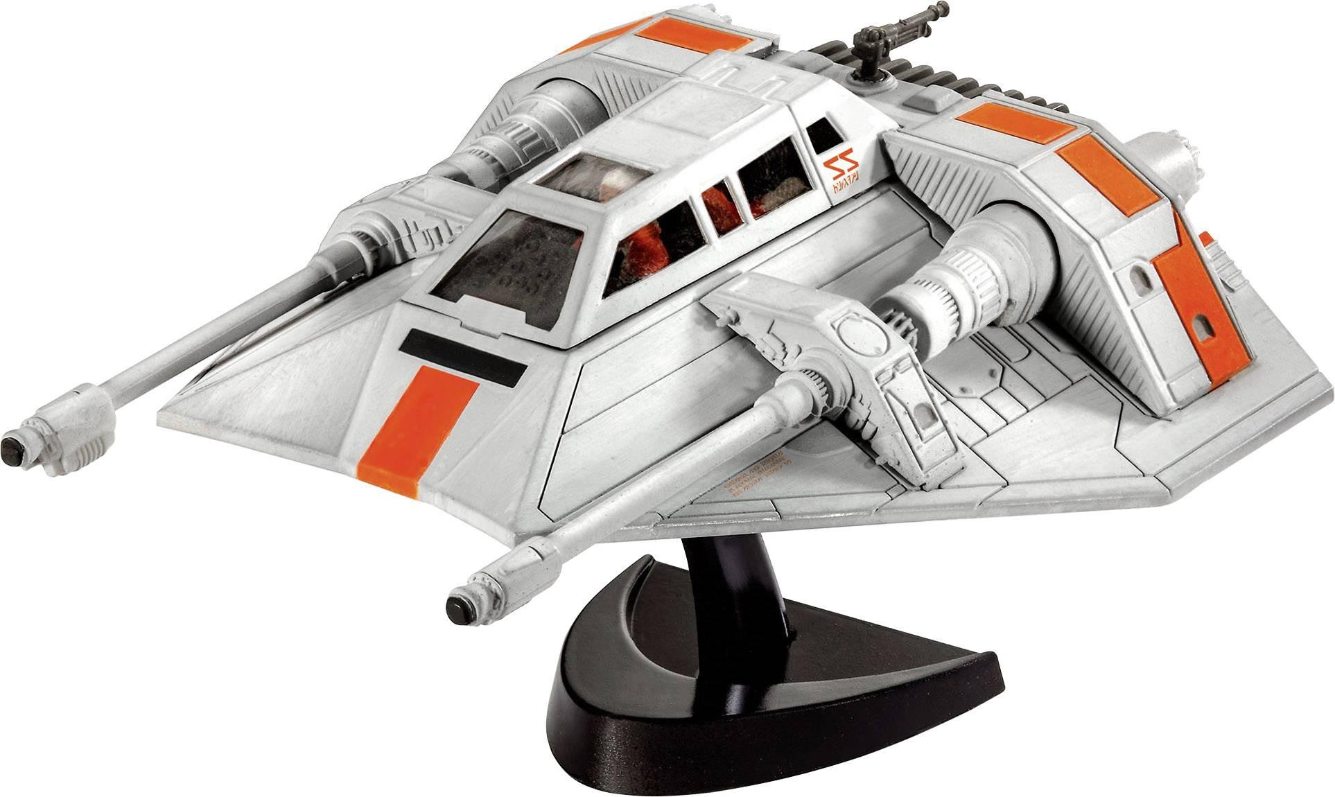 Star Wars Snow Speeder, sci-fi model, stavebnica Revell 03604