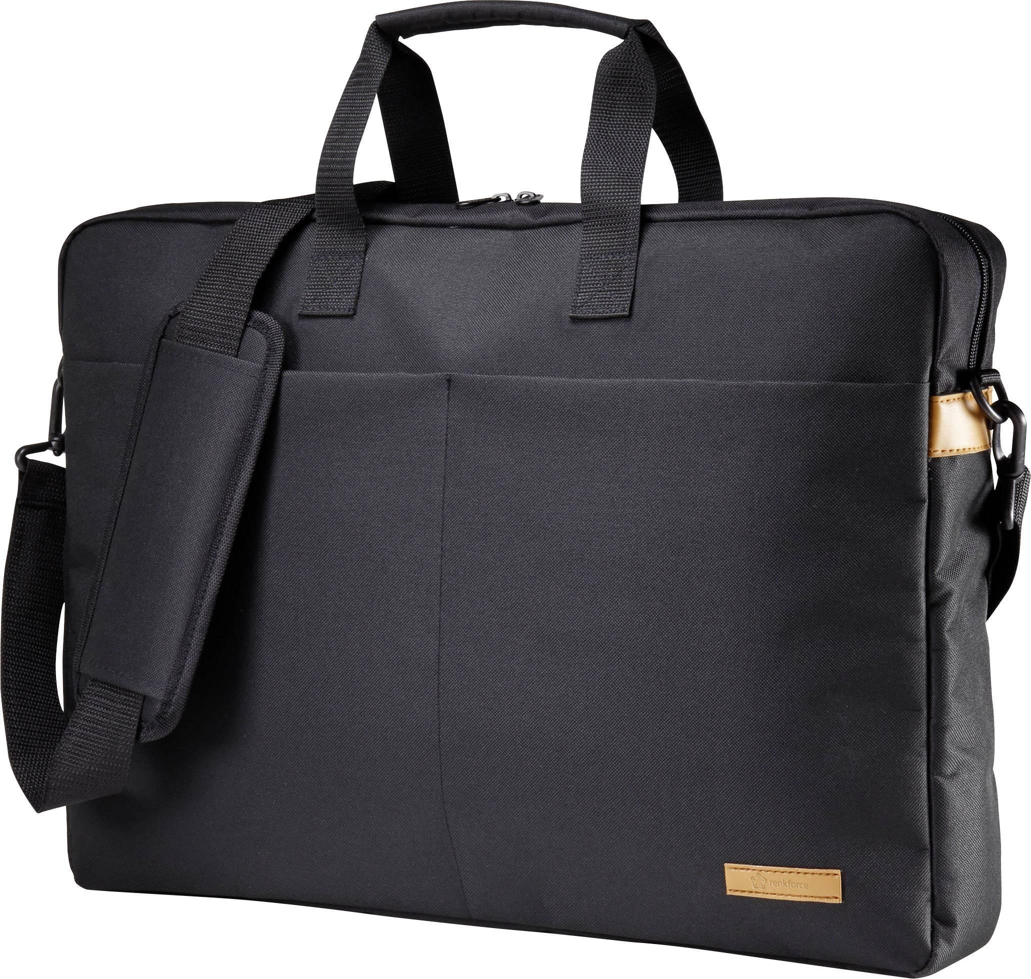 """Taška na notebook Renkforce RF-4174638 s max.veľkosťou: 46,7 cm (18,4"""") , čierna"""
