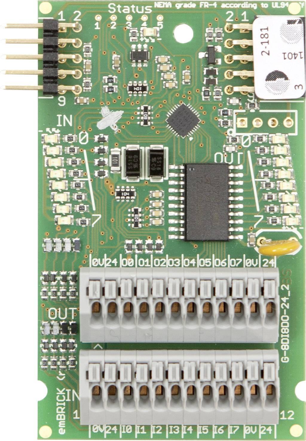 PLC modul emBRICK G-8Di8Do-01
