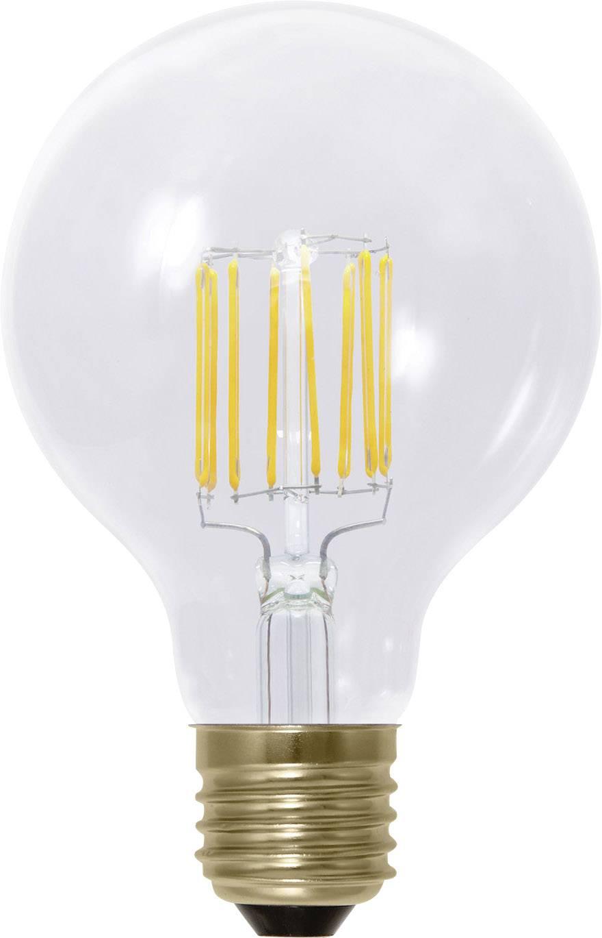 LED žiarovka Segula 50288 230 V, 6 W = 45 W, teplá biela, A+, vlákno, stmievateľná, 1 ks