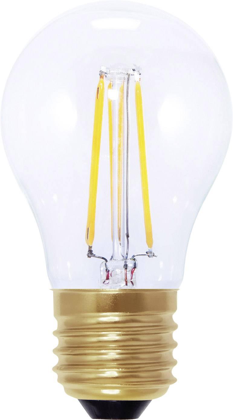 LED žiarovka Segula 50211 230 V, 3.5 W = 20 W, teplá biela, A+, vlákno, stmievateľná, 1 ks