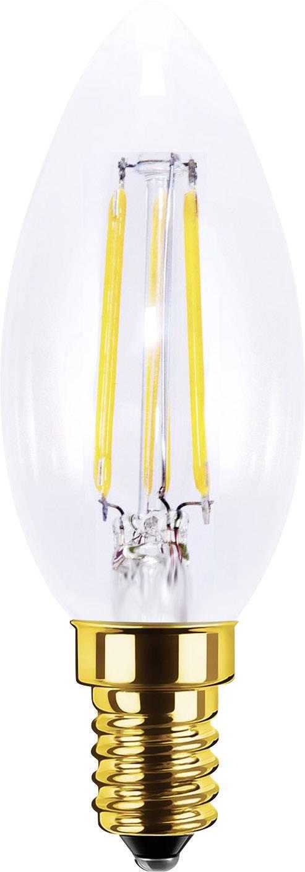 LED žiarovka Segula 50201 230 V, 3.5 W = 20 W, teplá biela, A+, vlákno, stmievateľná, 1 ks