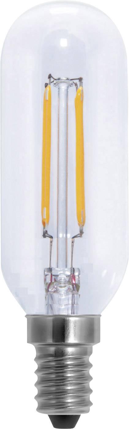 LED Segula 230 V, E14, 4 W = 30 W, 105 mm, teplá bílá, A+ (A++ - E), vlákno, stmívatelná, 1 ks