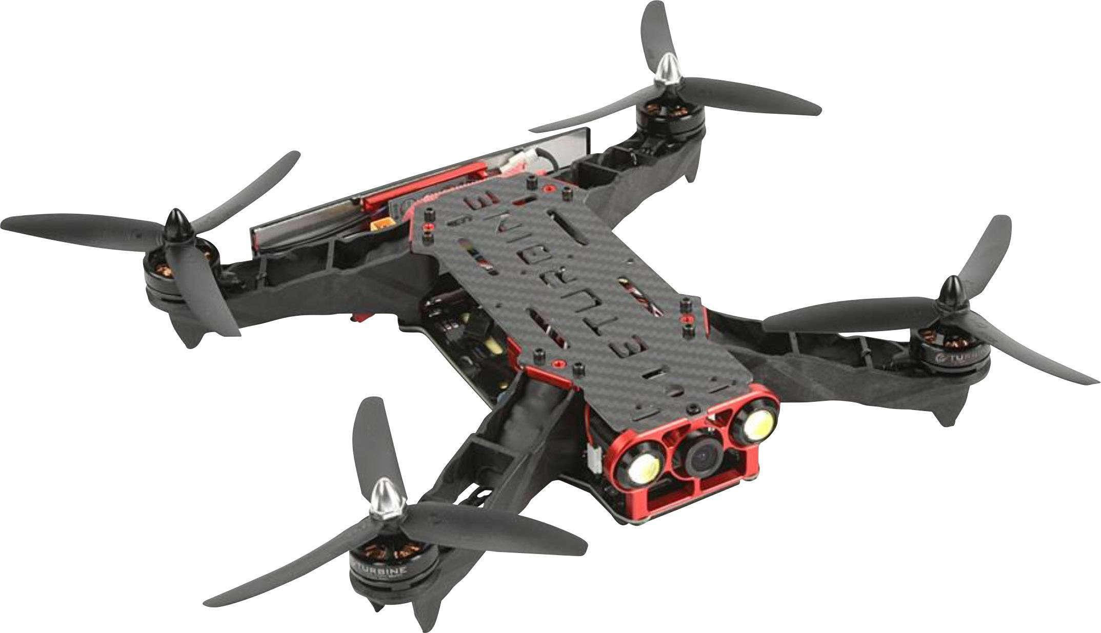 Závodní dron Robitronic FPV 250 Combo Kit, stavebnice FPV Race, profi