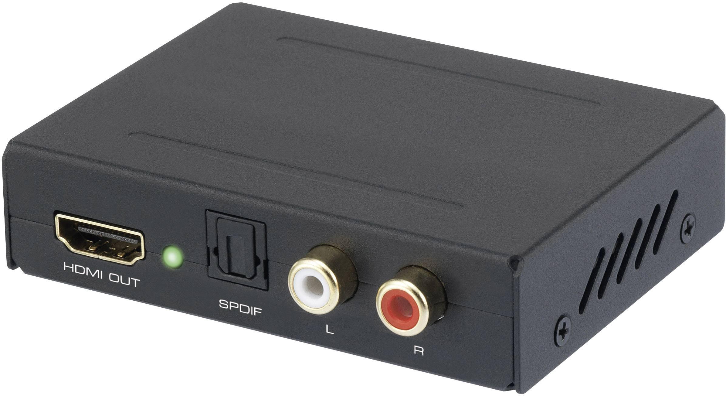 HDMI audio extraktor UHD (4K) SpeaKa Professional 29063c25