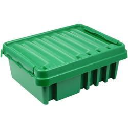 Rozváděč Heitronic Dribox 330 21044, zelená